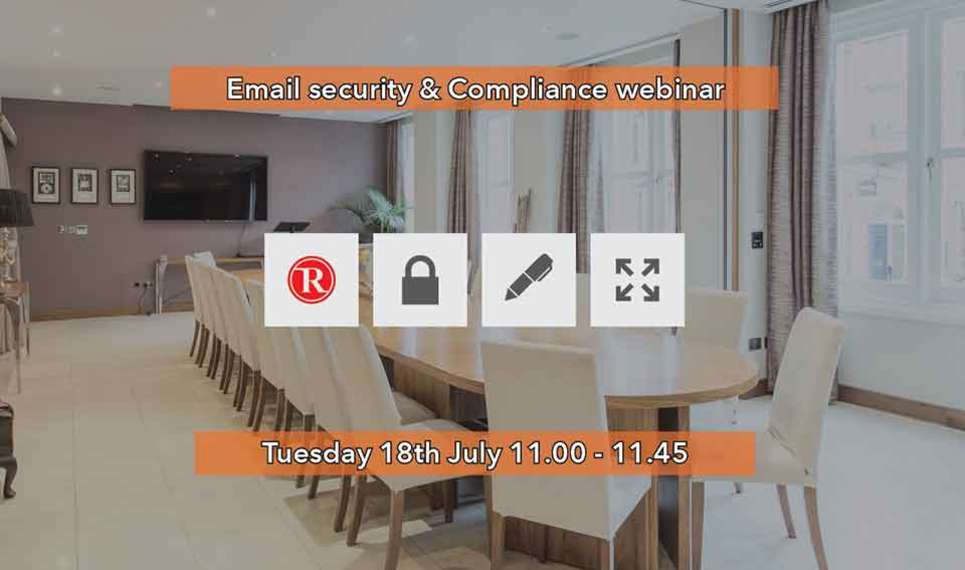 Security and compliance webinar