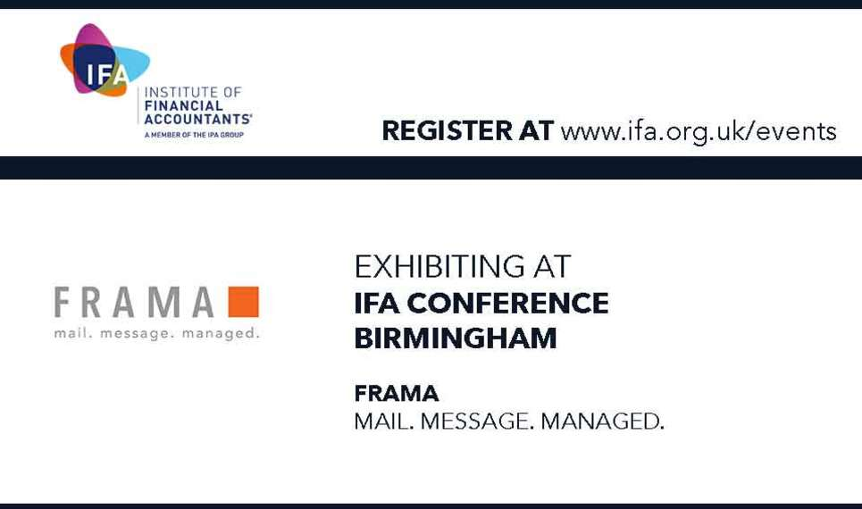 Frama is going to IFA event